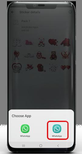 Use WhatsApp Romantic Stickers