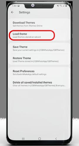 download whatsapp black theme