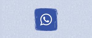 Download OBWhatsApp Blue