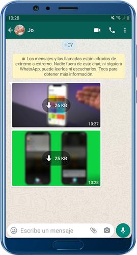 Detener la descarga automática de medios en WhatsApp
