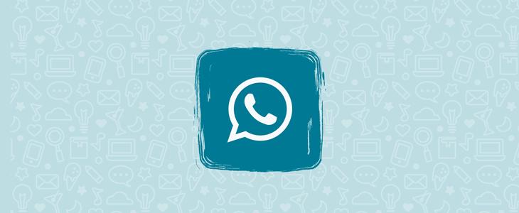 скачать WhatsApp Plus синий