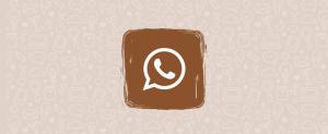 Adam WhatsApp en son sürümü 2021 kahverengi ve siyah sürüm 20'yi indirin