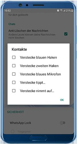 WhatsApp Plus Blue herunterladen