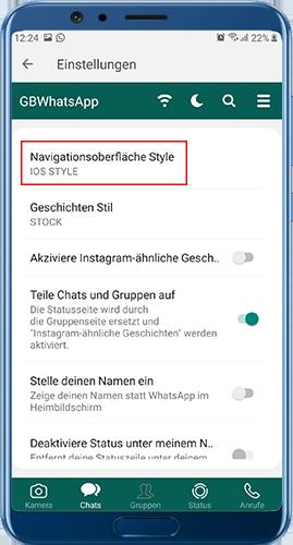 gbwhatsapp pro herunterladen iOS-Thema