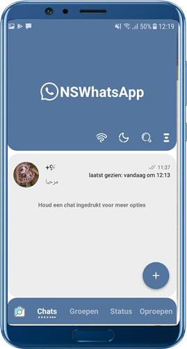 NSWhatsApp-thema's