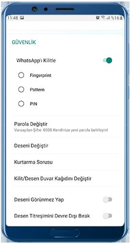 WhatsApp Plus Blue indir Whatsapp'ı kilitle