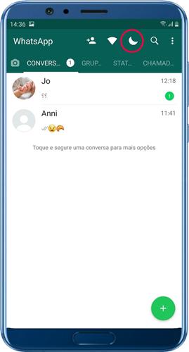 Herunterladen WhatsApp Plus Red dunkler Modus
