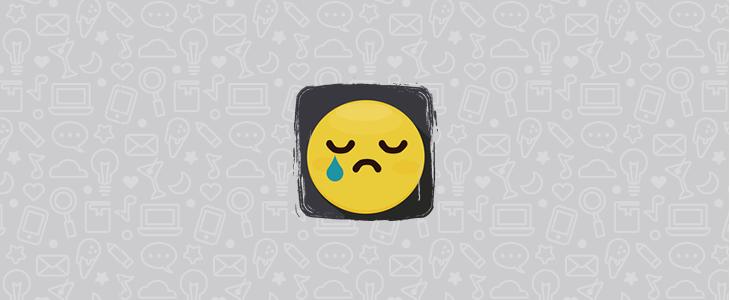 download sad whatsapp stickers