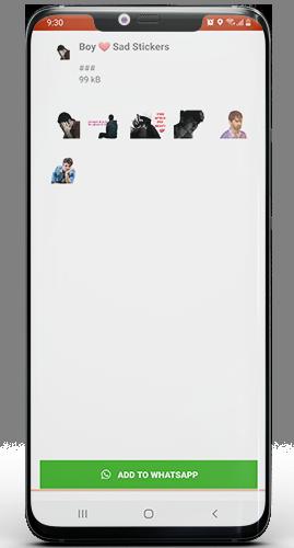 Download Sad WhatsApp Stickers App