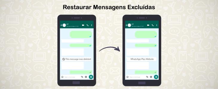 Restaurar Mensagens Excluídas