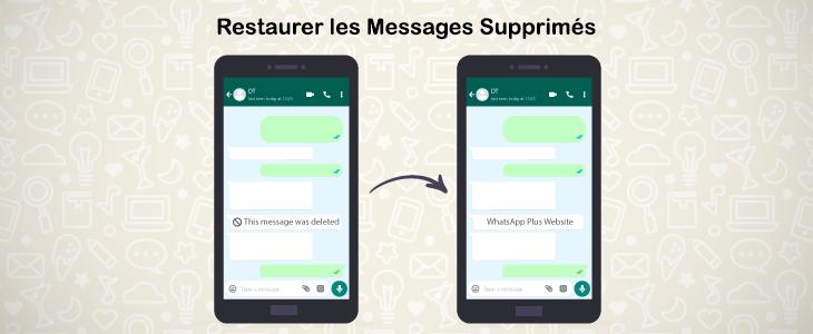 Restaurer les Messages Supprimés