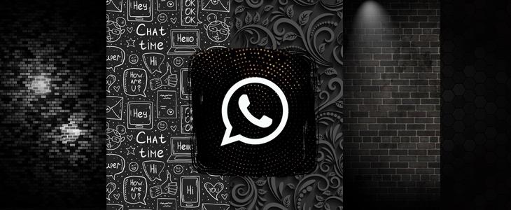 Laden Sie WhatsApp Dunkel Thema