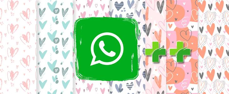 Laden Sie romantische WhatsApp Themes