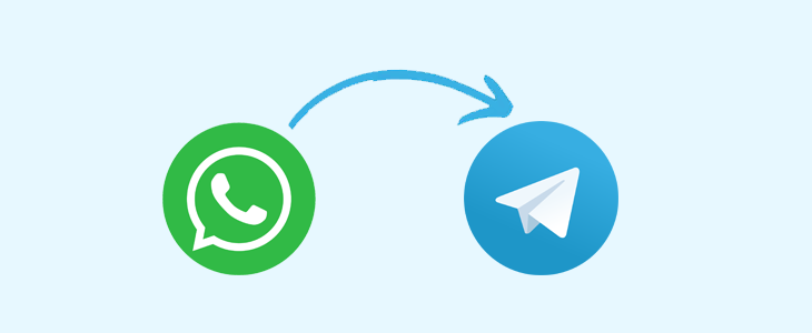 Move WhatsApp chats to Telegram iPhone