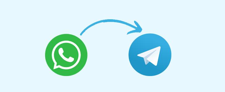 Mover chats WhatsApp a Telegram iPhone