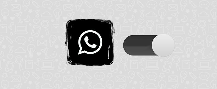Modo escuro do WhatsApp no iPhone