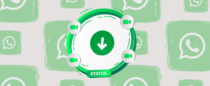 сохранить статус WhatsApp